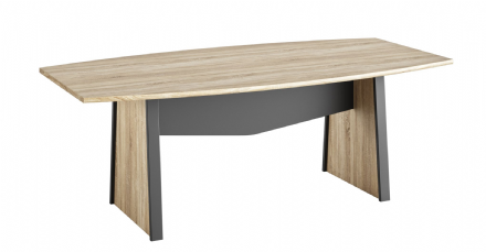 Sonoma Oak 204 cm Boardroom Table
